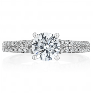 Classic Split Shank Engagement Ring